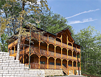 7 Bedroom Log Lodge